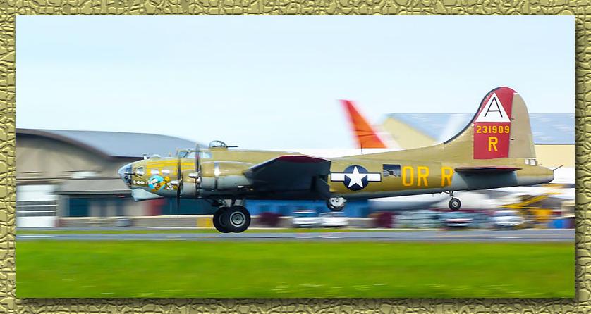 Collings_b-17_909_landing
